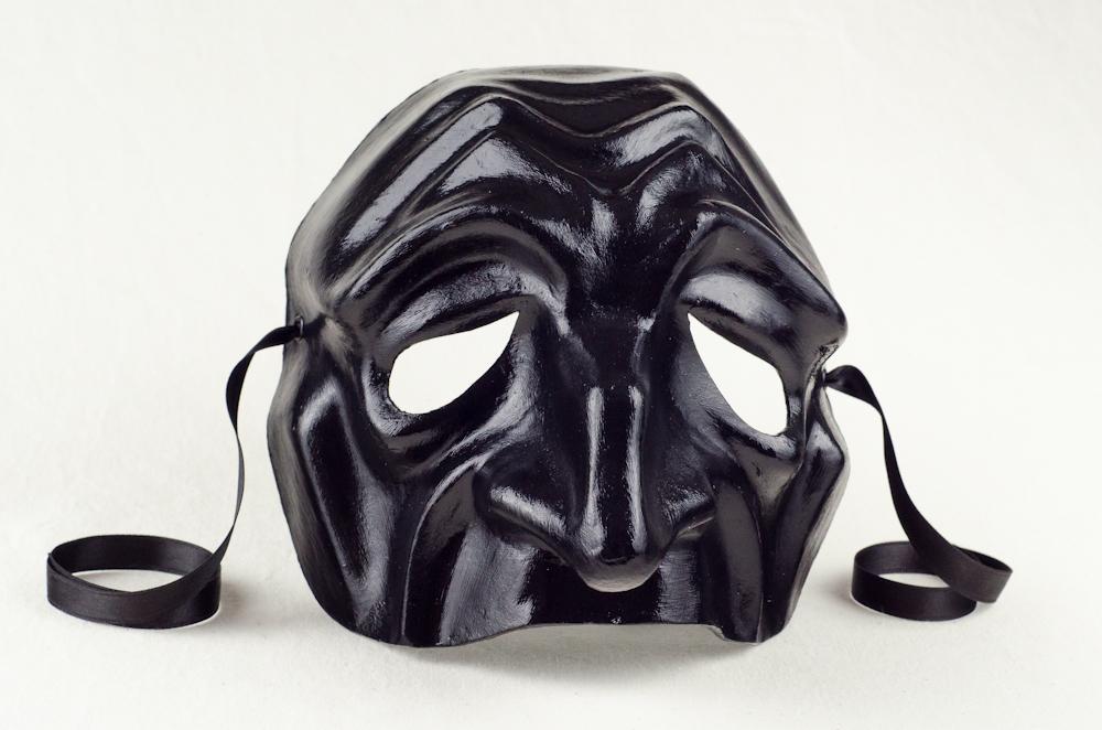 Audacieux Vendita Maschere Commedia dell'Arte: Pantalone Nero JM-41
