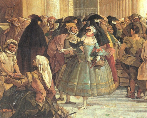 MINI-LECTURE ON THE HISTORY OF THE CARNIVAL OF VENICE