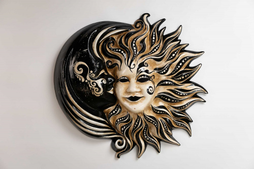 Sun and Moon Mask Cachemire