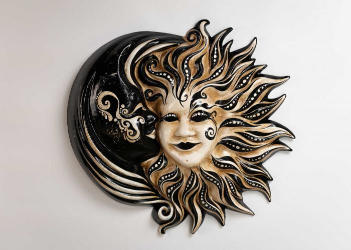 Sun and Moon Mask Cachemire