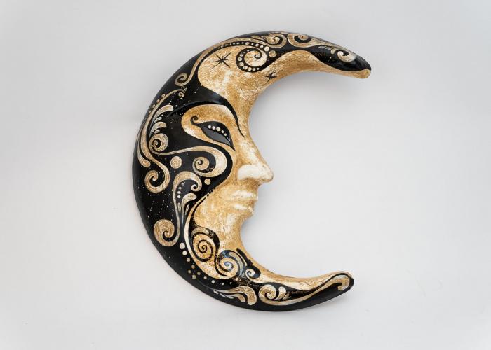 Mini Moon Mask Cachemire