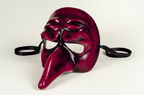 Capitano Mask Red and Black