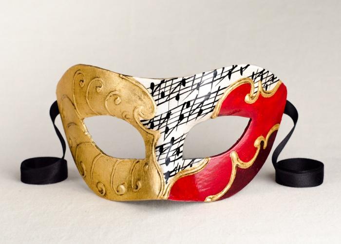 Maschera Colombina Federica 5