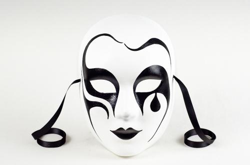 Face Mask Pierrot Classic 2