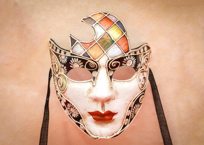 Moon Face Mask Marilyn