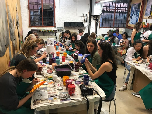 Venice Mask Decoration Course for Groups