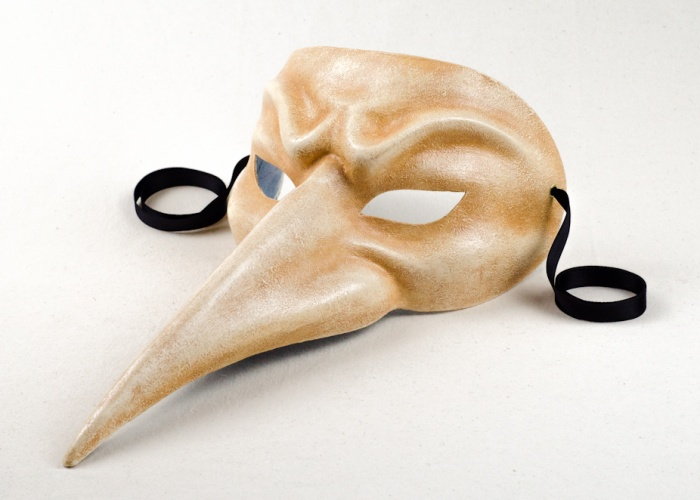 buy long nose mask antiqued