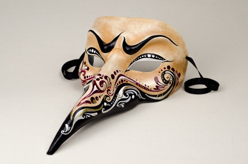 Long Nose Venetian Masks - Cachemire 1