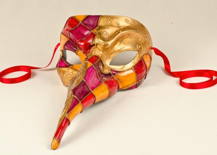 masque long nez rosy 2