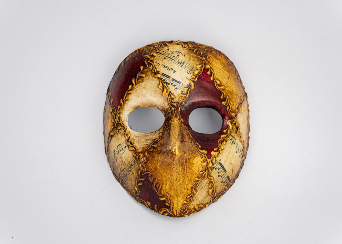 Moretta Mask Emanuele Red