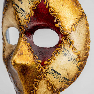 Moretta Mask Emanuele Red 4