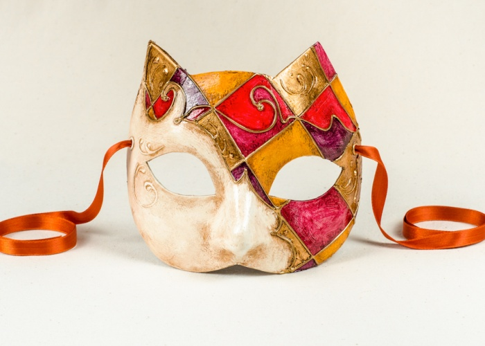 cat mask rosy small 2