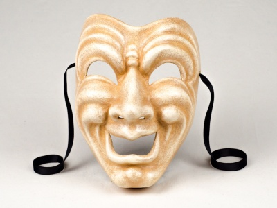 Comedy Face Mask Antique