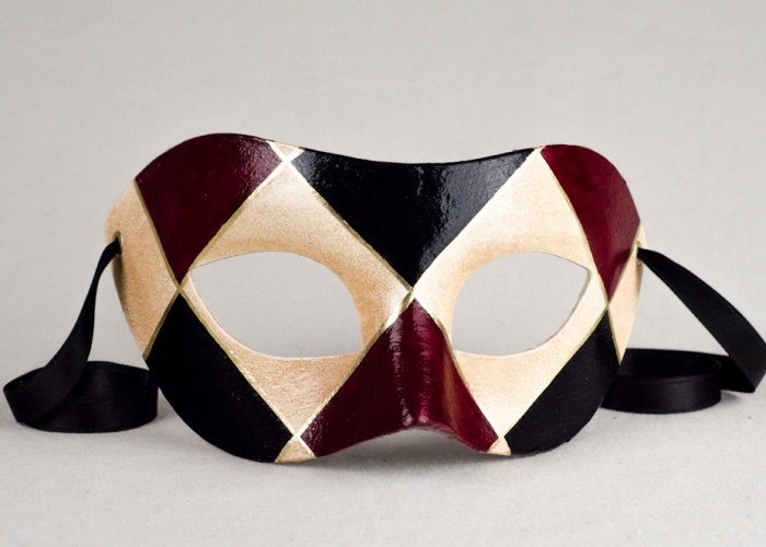 masque colombine classique 4