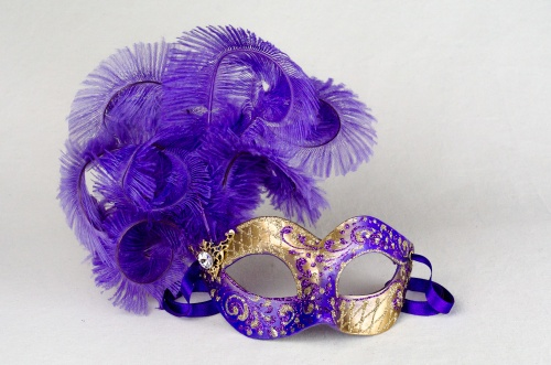 Eye mask Feathers Ketty 2