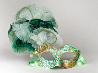 Eye Mask Feathers Ketty 4