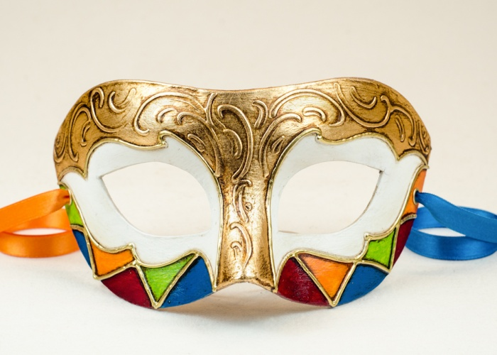 Maschera Colombina Michele 2