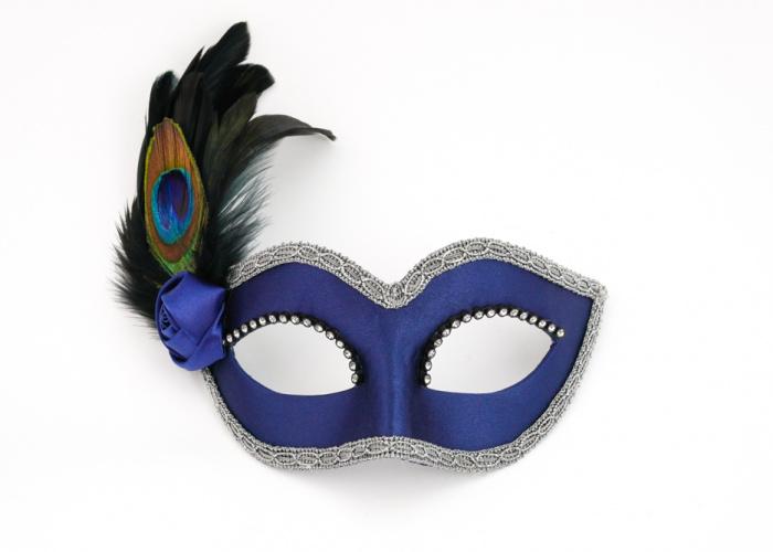 Eye Mask Peacock Small