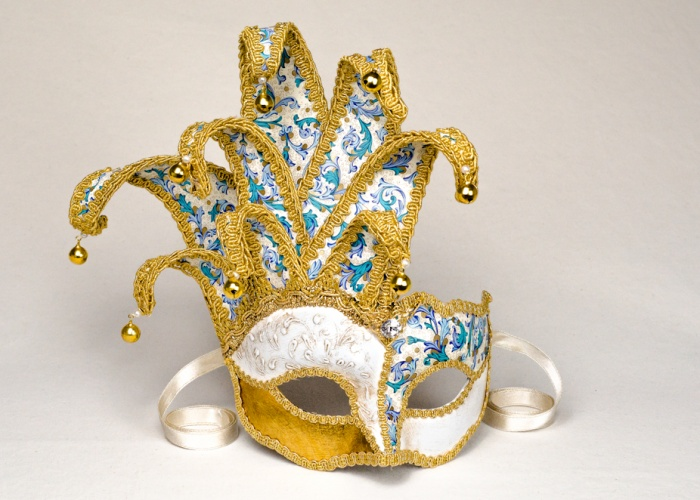 maschera colombina jolly 1