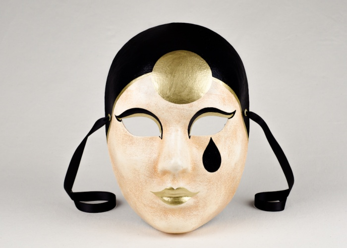face mask pierrot patina 1