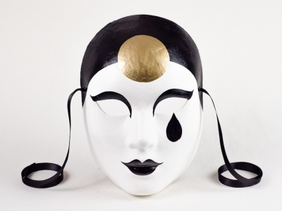 Face Mask Pierrot Classic