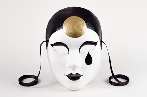 Face Mask Pierrot Classic 1