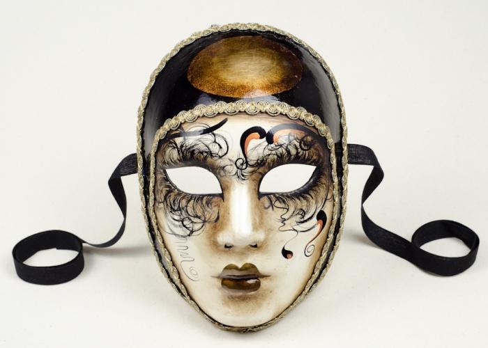 masque volto pierrot betty 1