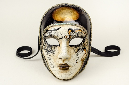 Face Mask Pierrot Betty Craquelure 1