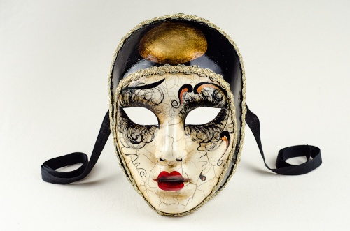 Face Mask Pierrot Betty Craquelure 2