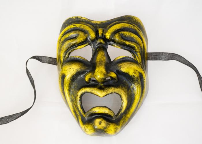 Tragic Face Mask