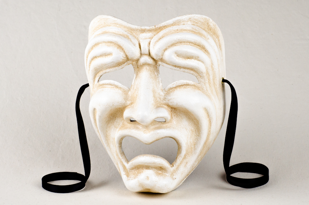 ca macana comedy and tragedy masks
